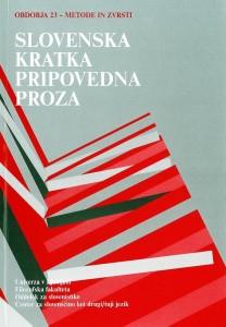 Simpozij Obdobja 23: Slovenska kratka pripovedna proza